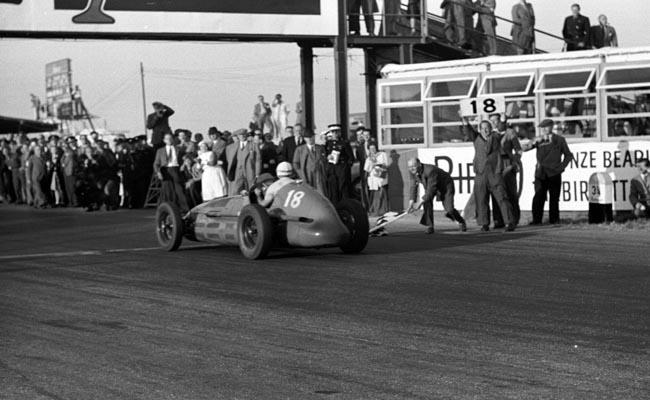 First ever British Grand Prix, 1948.