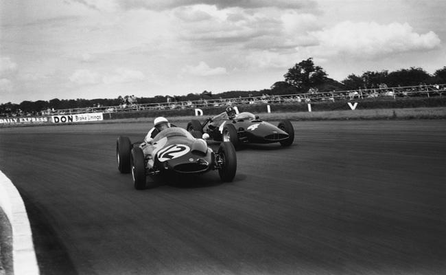Silverstone, England. 16th July 1960. Photo Credit: Silverstone Classic/LAT Photographic www.latphoto.co.uk