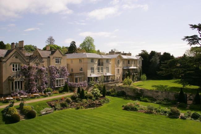 The Bath Priory Gardens Exterior