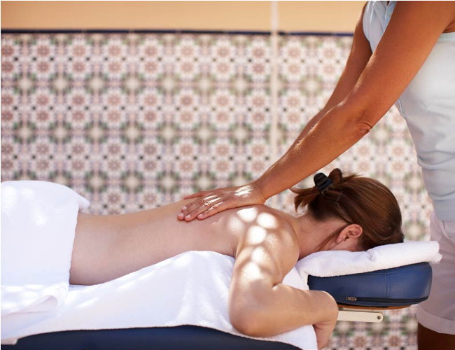 Relax and unwind in Soma Bay's Robinson Club massage parlour.