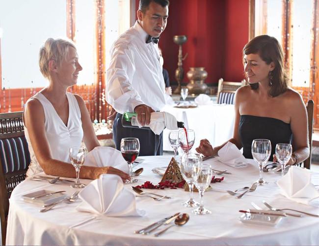 Enjoy fine dining in one of the hotel's most prestigious restaurants.