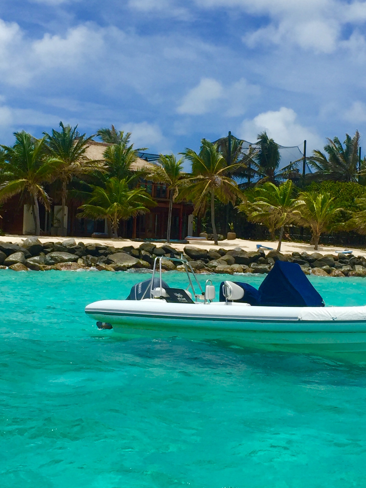 Necker Island Speedboat