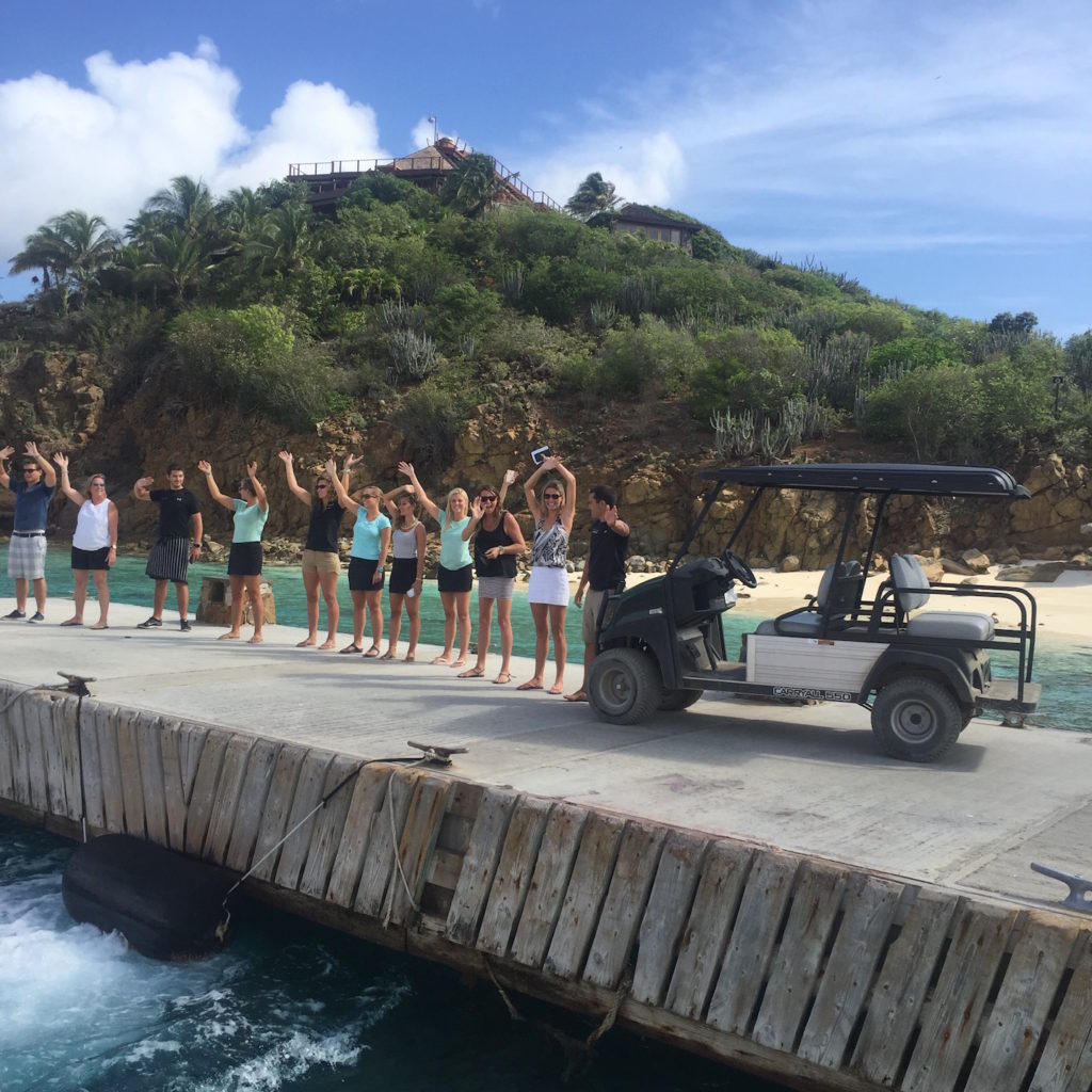 Necker Island Staff