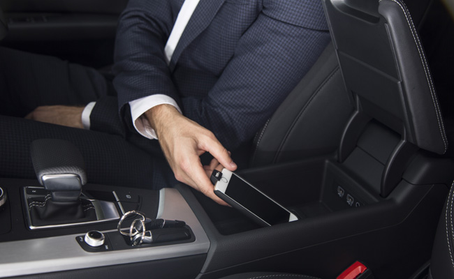 Audi branch into gadgets with their iPhone case.