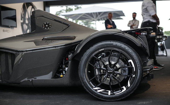 Graphene meets beauty in the latest BAC Mono design.