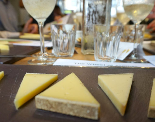 Comté & Bubbles: Buchanan's Cheesemonger, Porchester Place in London