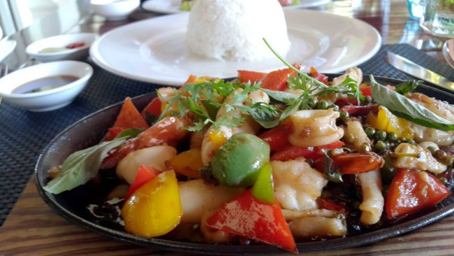 Delicious Asian Inspired Seafood at the Lemon Grass Restaurant