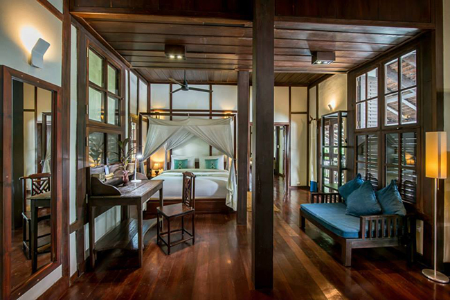 Kiridara Villa Ban Kili Bedroom