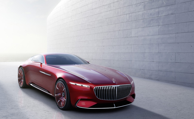 Luxurious new Mercedes-Maybach model to feature at Pebble Beach event.