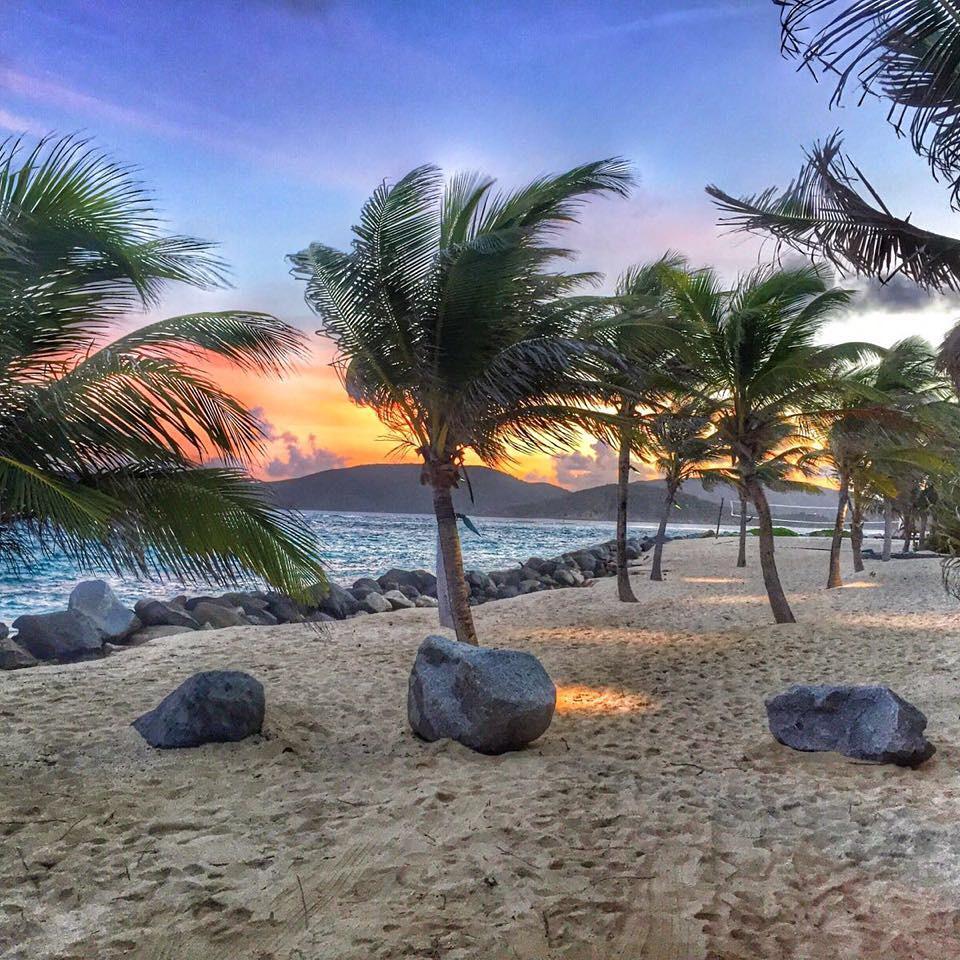 Necker Island Beach Sunset
