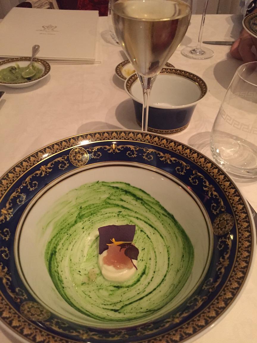 Palazzo Versace Dubai food dish
