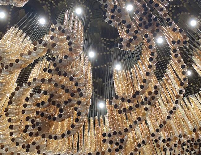 Palazzo Versace Dubai chandelier