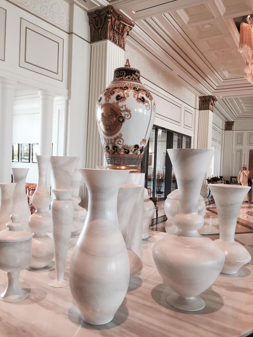 Palazzo Versace Dubai urns