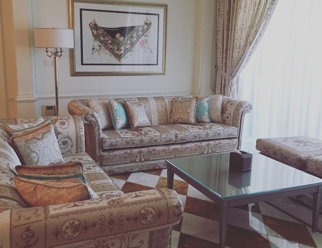 Palazzo Versace Dubai residence suite