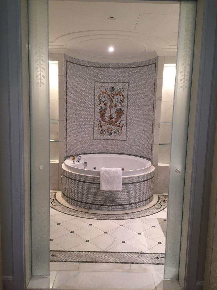 Pool Cabana With Bathroom