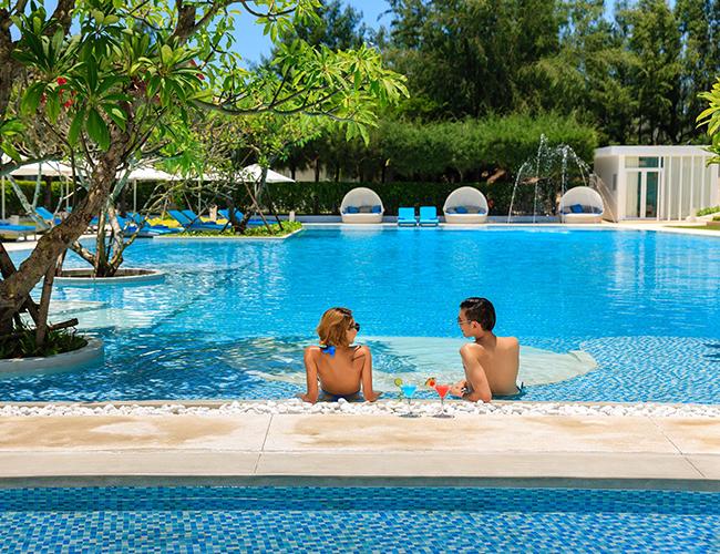 Pool Side at Alma Oasis