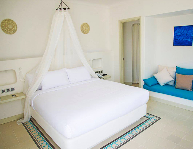 Romantic Bedroom at Alma Oasis Vietnam