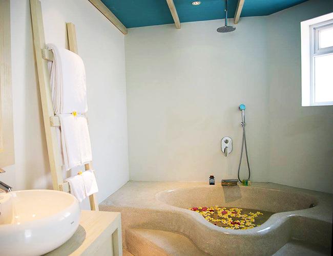 Sunken Bath at Alma Oasis