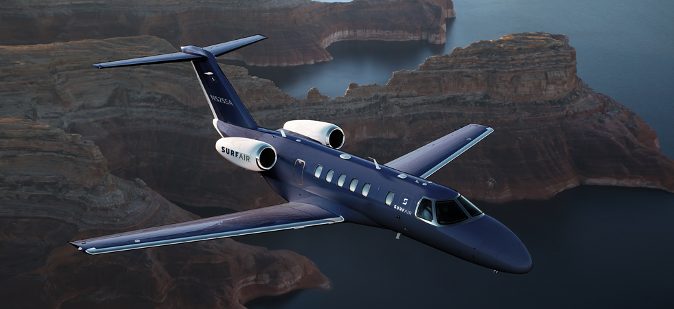 European private jet travel just got even better thanks to SurfAir announcement.