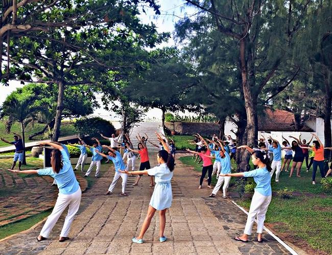 Thai Chi Lessons at Alma Oasis