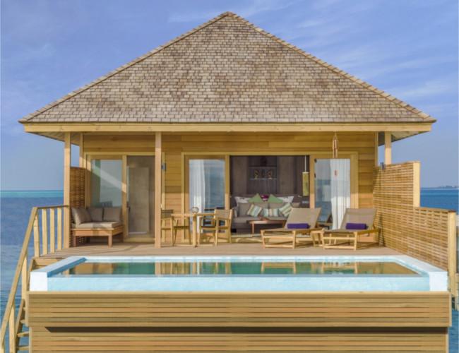 Hurawalhi Ocean Pool Villa.