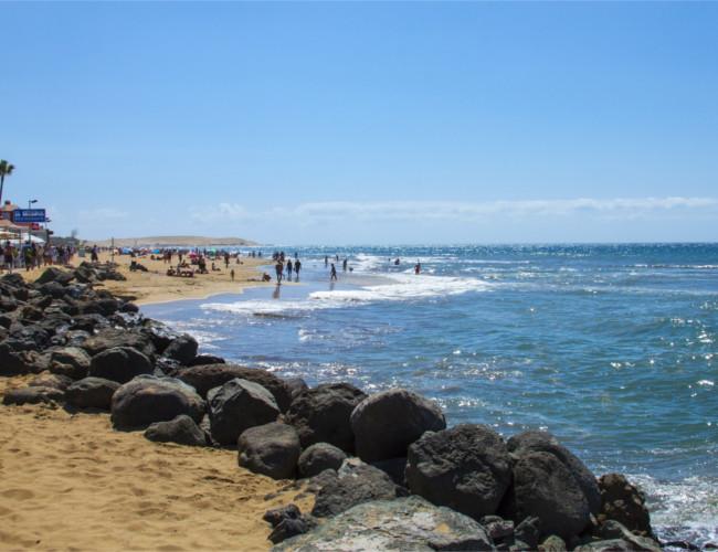 The beautiful Gran Canaria in the Canary Islands.