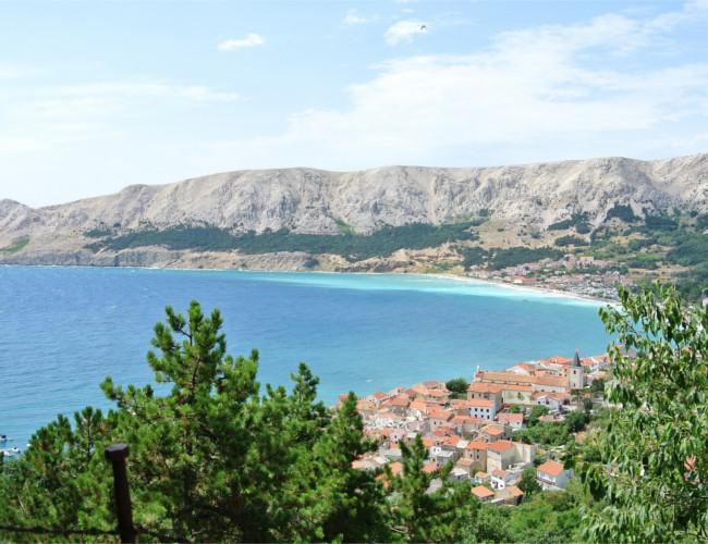 The stunning coast of Croatia.