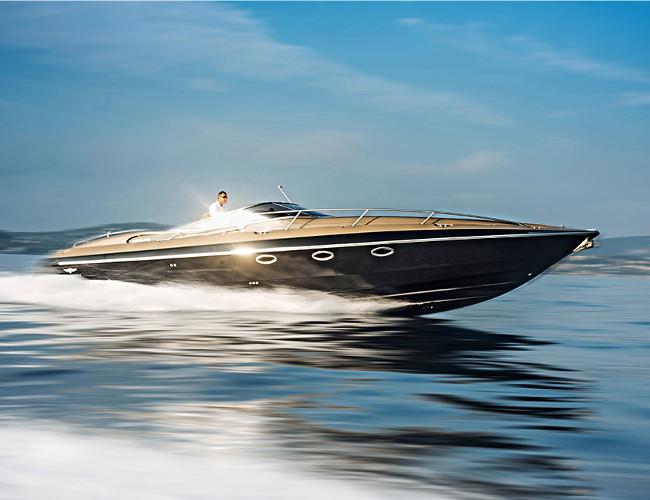 The Hunton XRS43 is a truly Bond like bespoke luxury yacht.