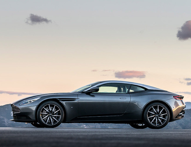 The Aston Martin DB is the perfect Bond essential.