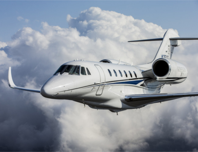 The Cessna Citation is perfect for your own private travels.