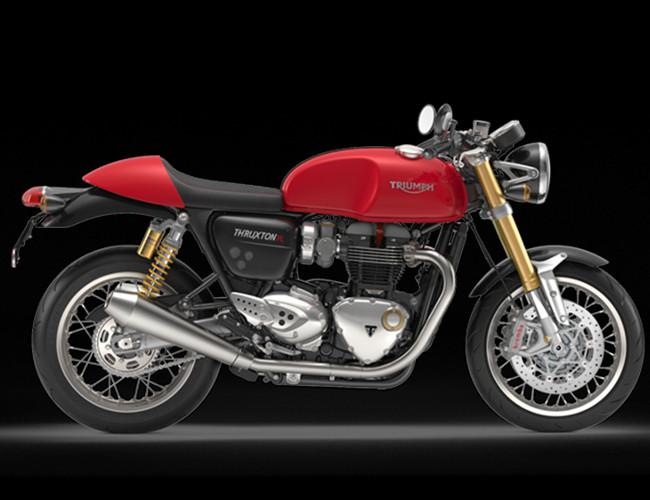 The beautifully sleek and stylish Triumph Thruxton