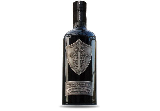 Wild Knight® Ultra-Premium English vodka