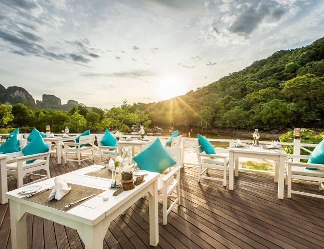 Enjoy a romantic dinner at Phi Phi's renowned Coconut Restaurant.