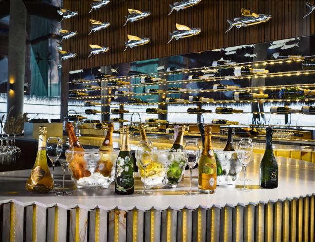 Aragu Restaurant & Cru Lounge - Champagne Bar.