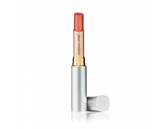 For fuller lips try out Jane Iredale's tinted lip plumper.