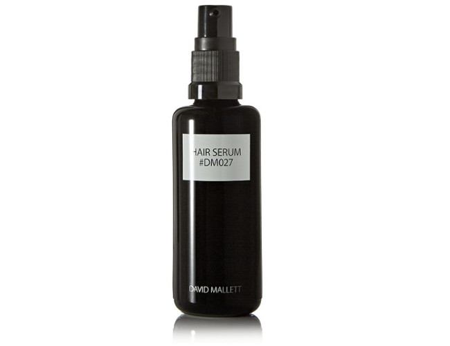 Use David Mallet's serum to nourish and tame unruly ends and prevent sun damage.