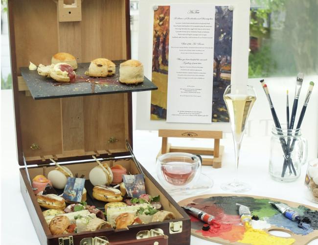 ARTea's artistic take on tea service.