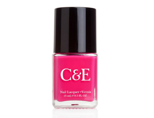 Try out Crabtree and Evelyn's fuschia shade of pink.