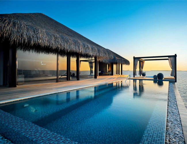 The spectacular view at the Ocean Pool House.