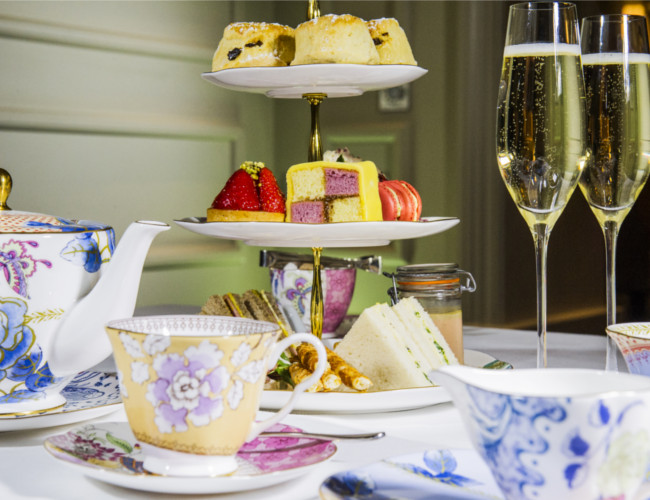 Indulge in a Royal Afternoon Tea at The Arch in London.