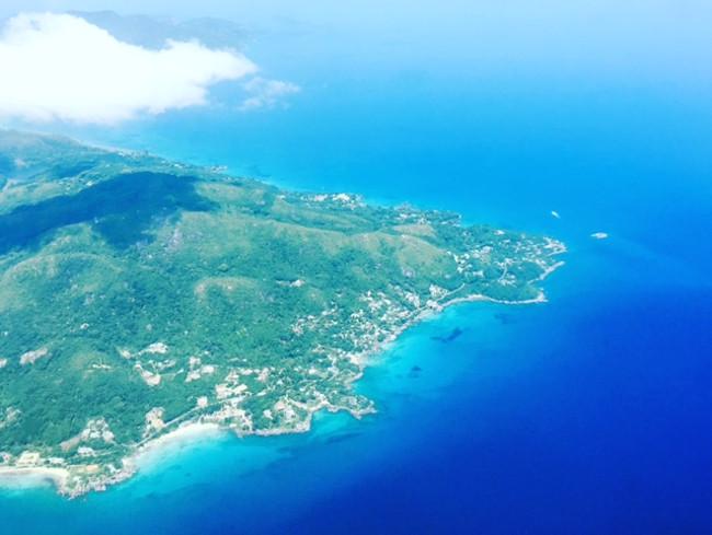 view of bird island