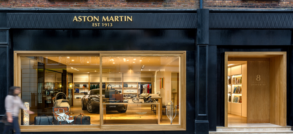 aston martin open new mayfair brand experience boutique luxury lifestyle magazine. Black Bedroom Furniture Sets. Home Design Ideas