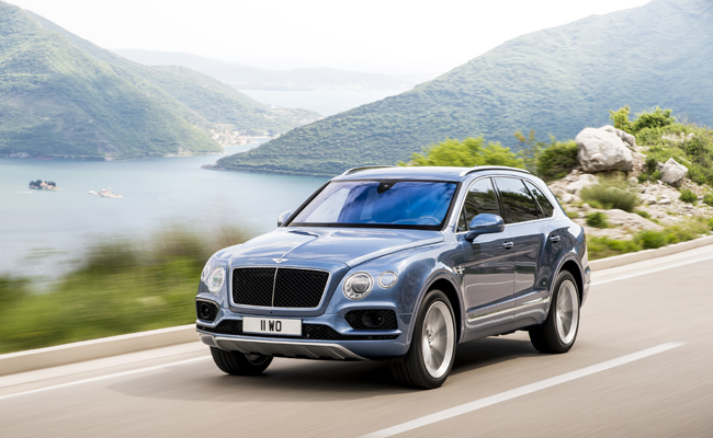 The Bentayga branches out into a Diesel model.