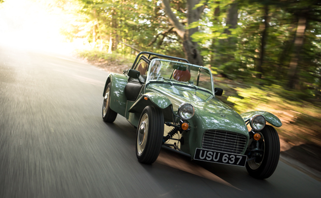 Caterham continues its' popularity selling out in just 7 days.
