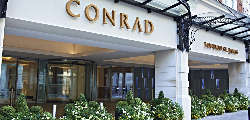 Hotel Review Conrad London St James 22 28 Broadway In