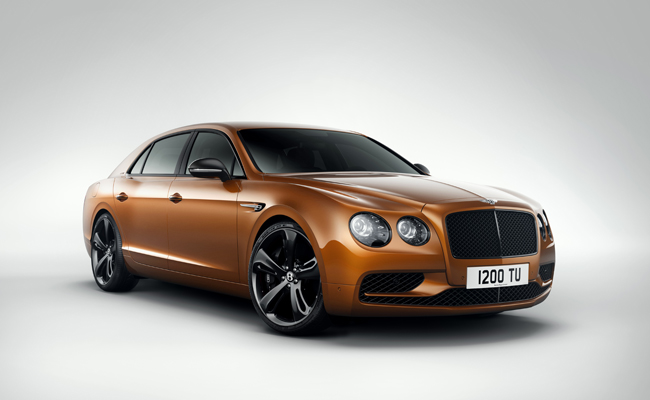 Set to join the Bentley Flying Spur family is the