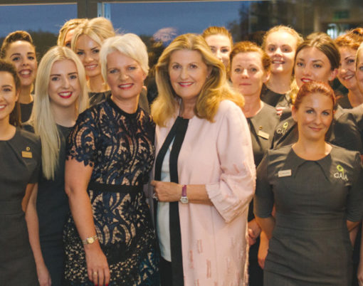 Gaia Spa hosts glittering launch event to celebrate Devon's new luxury spa