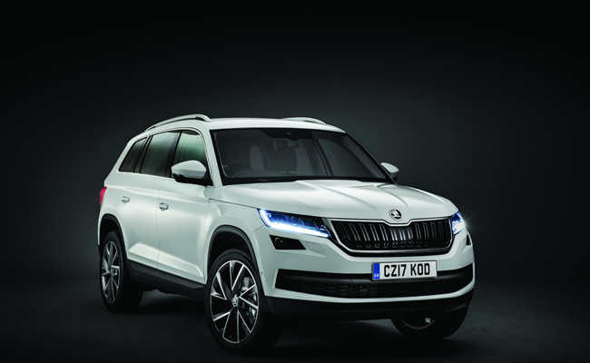 Entering a competitive SUV market is the Skoda Kodiaq.