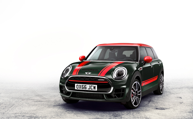 The fast becoming iconic MINI Clubman gets a John Cooper edition.