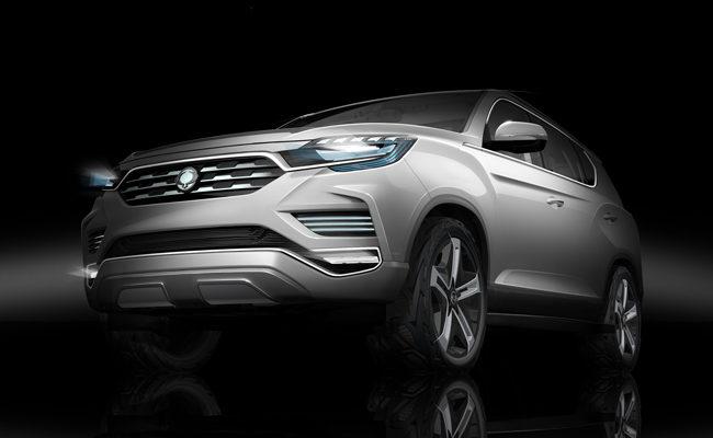 Set to debut in Paris is the new model from Ssangyong.